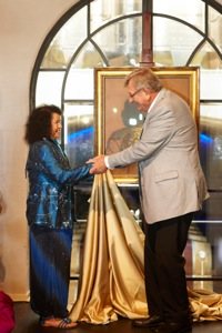 Monika Pon-su-san and Stephan Welz Unveiling