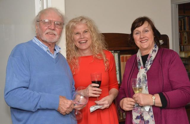 Dan Sleigh with Riana Barnard and Dorothea van Zyl