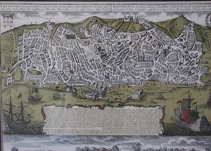 The town was in large parts destroyed by the earthquake of 1 November 1755