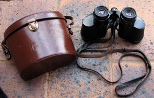 Carl Zeiss Binoculars  8X30 with leather pouch  Made in Germany