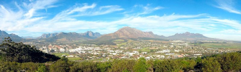 View of Stellenbosch